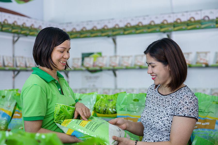 6 mẹo để kinh doanh thực phẩm sạch hút khách ào ào - Gạo Niêu Vàng