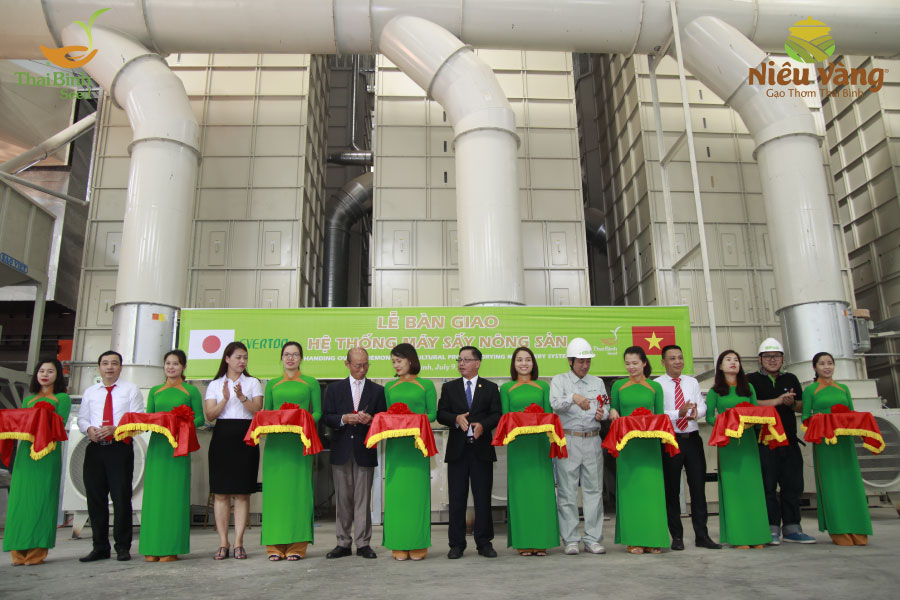 ThaiBinh Seed đưa hệ thống máy sấy nông sản hiện đại bậc nhất thế giới vào hoạt động tin-tuc