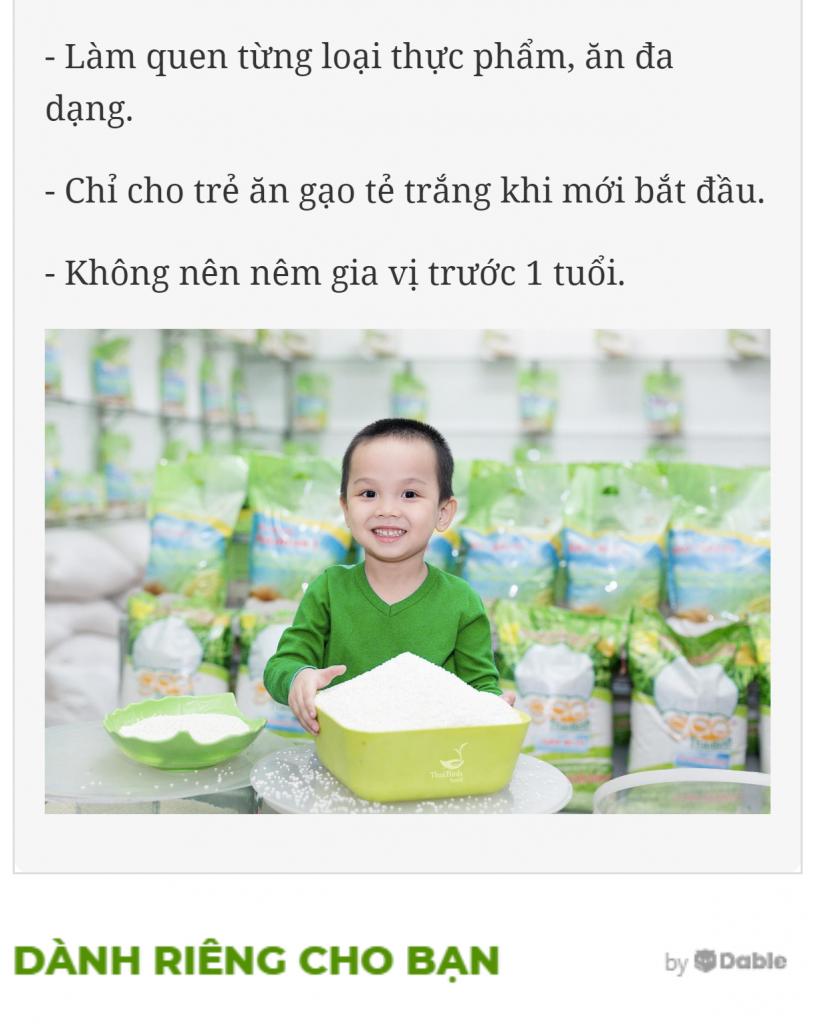 """3 bước làm bột gạo cho bé ăn dặm thật an toàn, bé ăn """"thun thút"""" tin-tuc"""