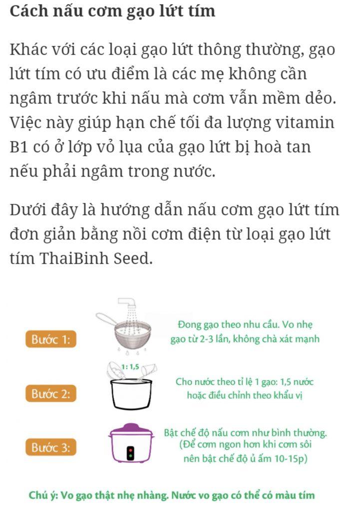 Bí quyết nấu cơm gạo lứt không cần ngâm mà vẫn dẻo ngọt 2020 tin-tuc